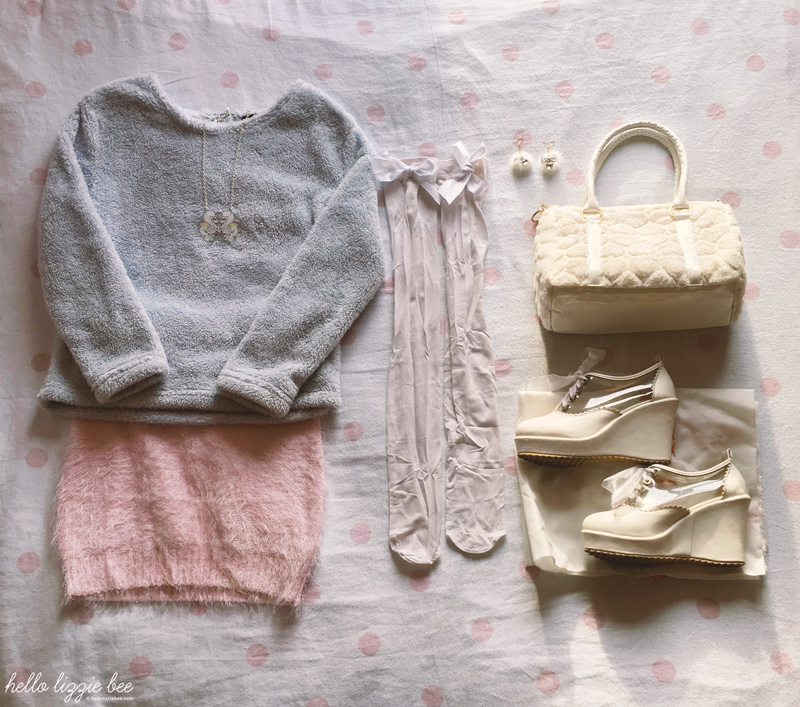 pastel princess outfit