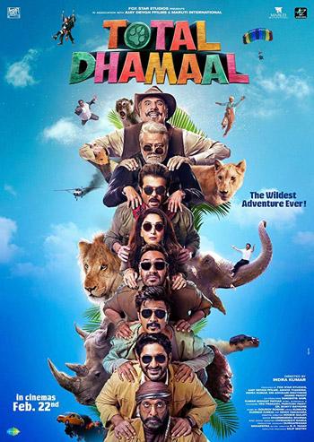 Total Dhamaal 2019 Hindi Movie PreDVD 720p 1.5GB
