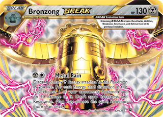 Bronzong BREAK Fates Collide Pokemon Card