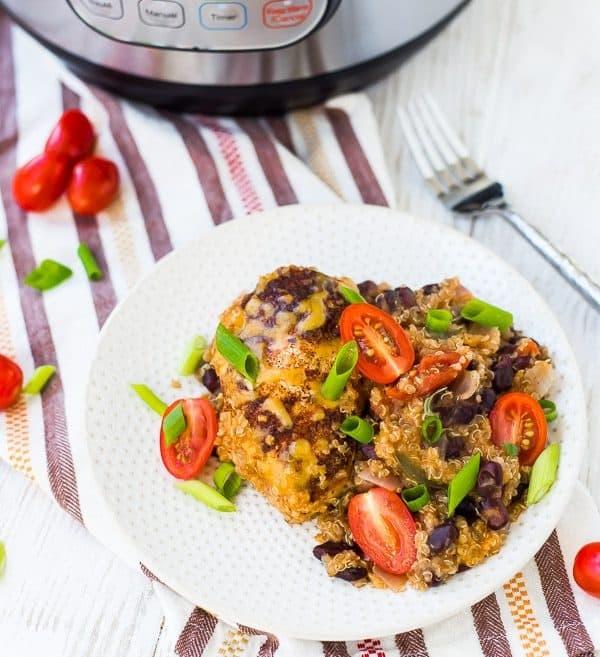 Southwestern Instant Pot Chicken & Quinoa