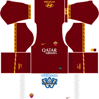 AS Roma Dream League Soccer fts 2020 dls fts kits and Logo,AS Roma dream league soccer kits