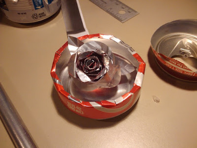 Roses Crafts With Soda Cans