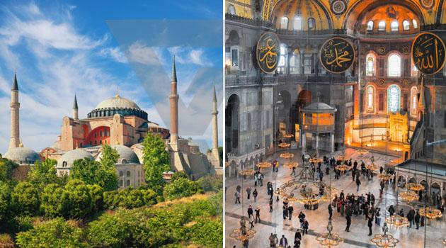 Hagia Sophia dijadikan masjid, kenapa negara jiran menentang? Ini penjelasannya