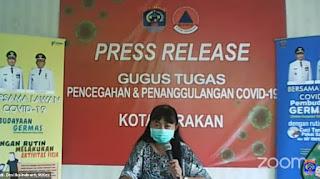 Press Release COVID-19 Tarakan 3 Juli 2020 - Tarakan Info