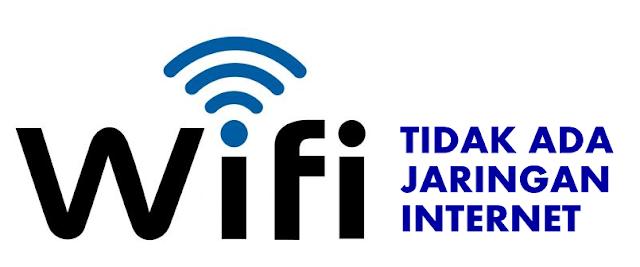 WiFi Terhubung Tapi Tidak Ada Jaringan Internet