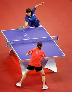 Permainan Tenis Meja Satu Set Mencapai Nilai : permainan, tenis, mencapai, nilai, Olahraga:, Tenis