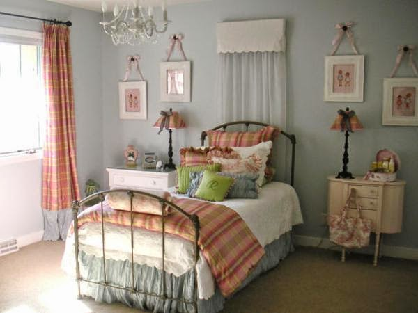 vintage bedroom painting ideas