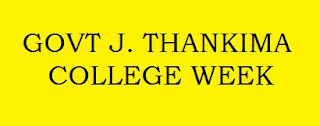 GOVT J. THANKIMA COLLEGE WEEK