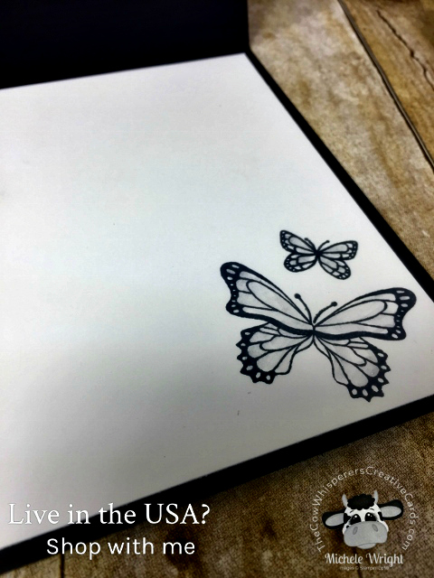 Card, Butterfly Gala, Butterfly Duet Punch, Botanical Butterfly Designer Series Paper,