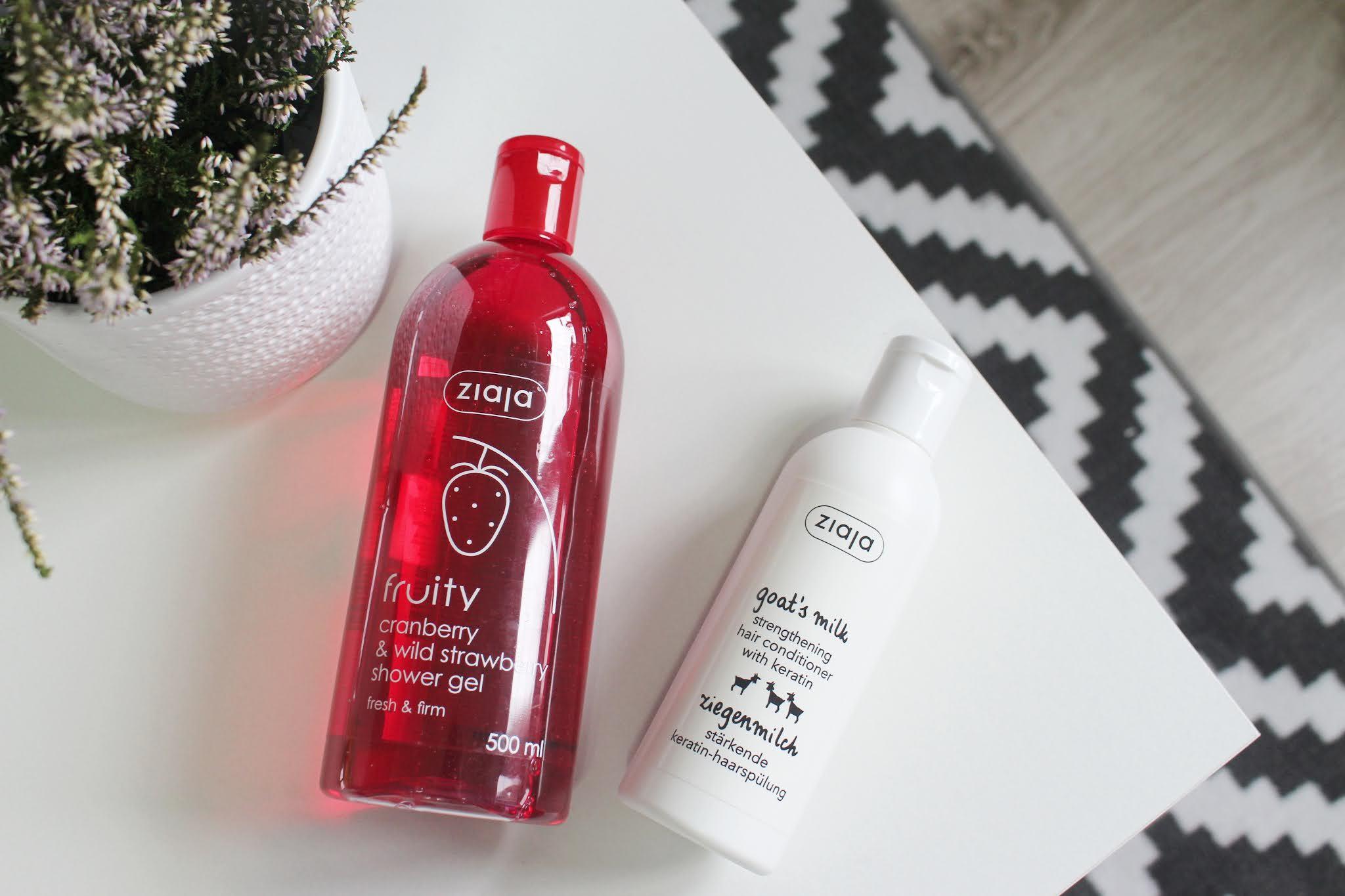 Ziaja, review, shower gel, beauty, notino, blogger, blog, recenzia, kozmetika, blogerka