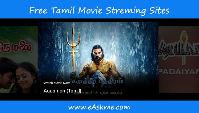 12 Best Sites to Watch Tamil Movies Online in HD for free: eAskme