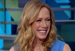 Kimberley Strassel showing her teeth while smiling
