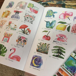 watercolor9d - Freeform Friday: Watercolor the Easy Way - Sara Berrenson + A GIVEAWAY