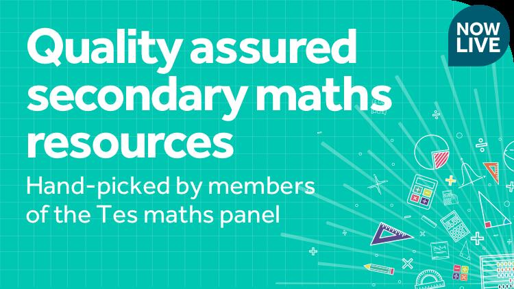 Resourceaholic: 5 Maths Gems #86