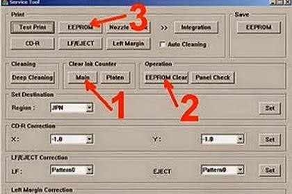 Cara Mereset Printer Canon ip2770 Dengan Mudah