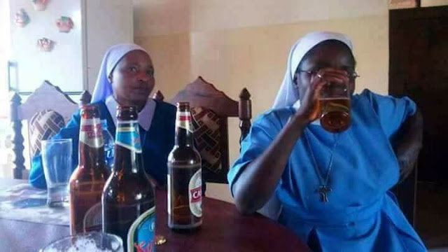 CHURCH MEMBERS DRINKING ALCOHOL