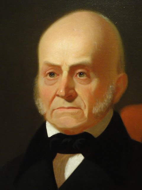 John Quincy Adams, a graduate of Harvard College, was the president with the highest estimated IQ. He had a score that ranged between 165 and 175.