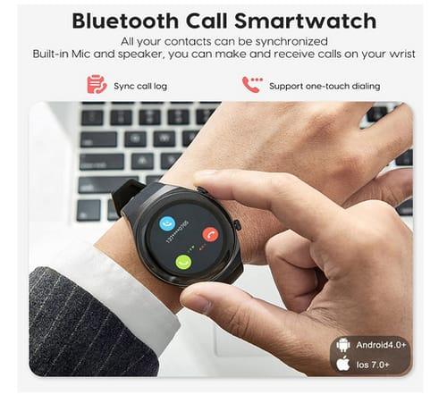 ATGTGA Step Sleep Tracker Android iOS Smart Watch
