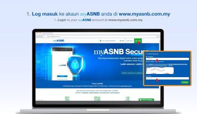 Permohonan Pengeluaran Duit ASB Online Melalui MyASNB