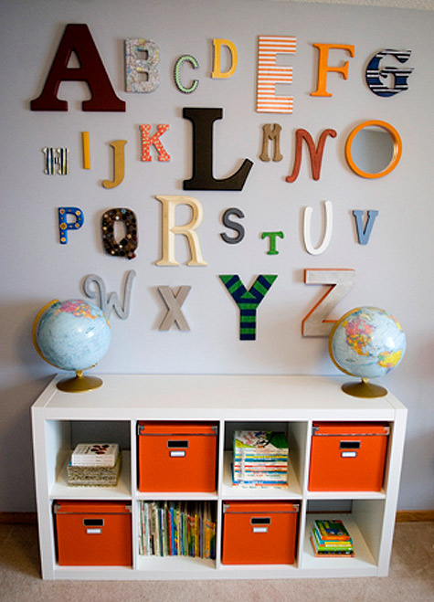 Rooms: Oh What Fun: Alphabet Wall