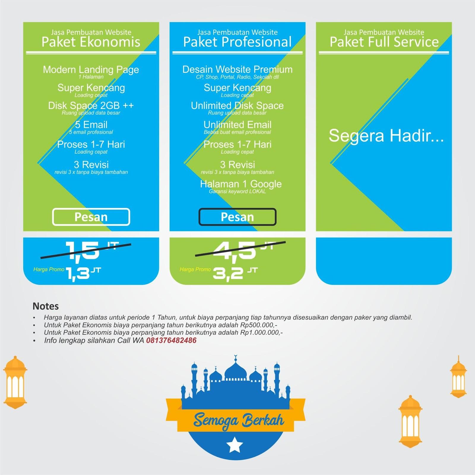 Jasa pembuatan website paling murah di Banda Aceh - Teman ...