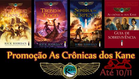 livros as cronicas de kane