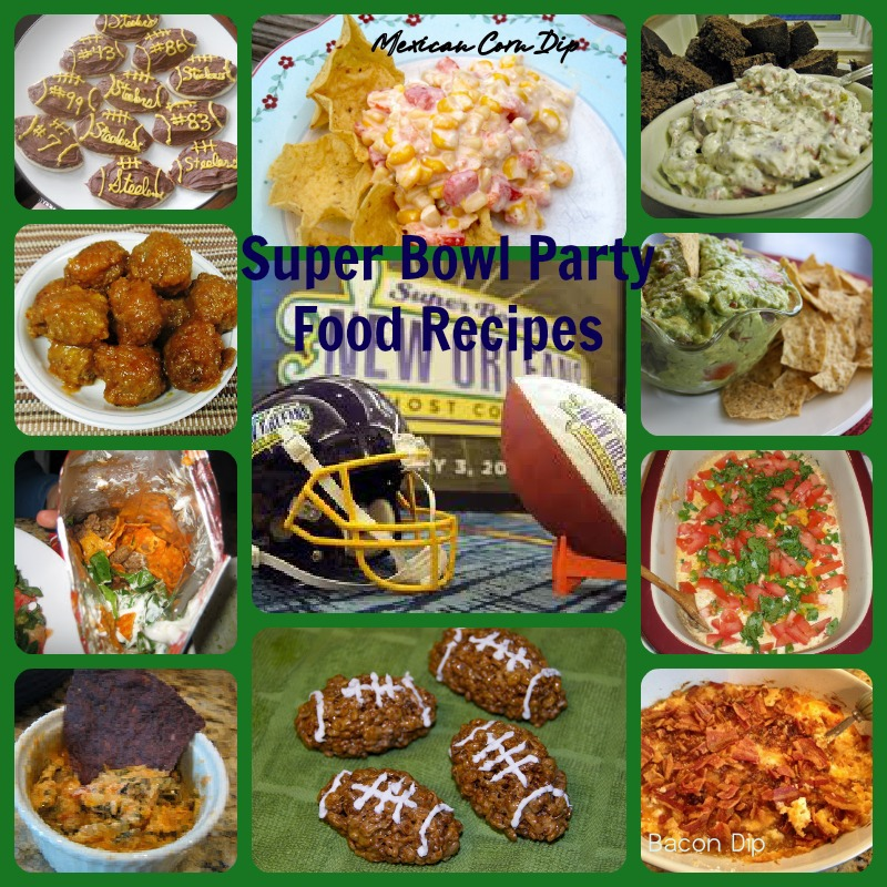 super bowl party food bowl football themed recipes 31187