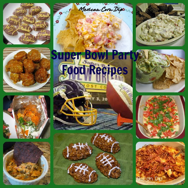 13 Recipes for your Football Party I (Super Bowl Recipe Ideas)