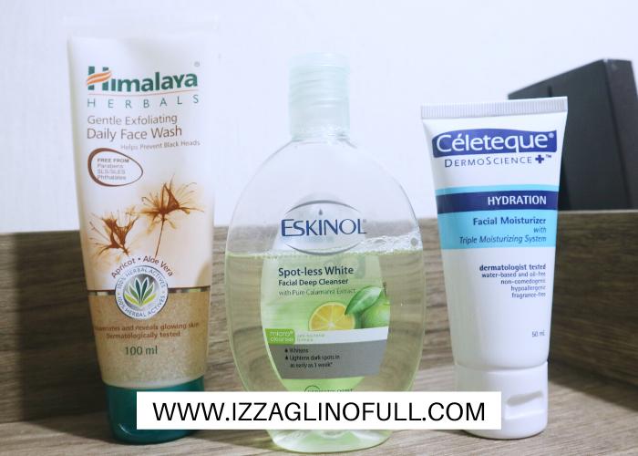 current-skincare-routine