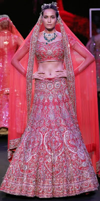 FDCI India Couture Week 2019: Embellished Wedding Attire by Suneet Varma