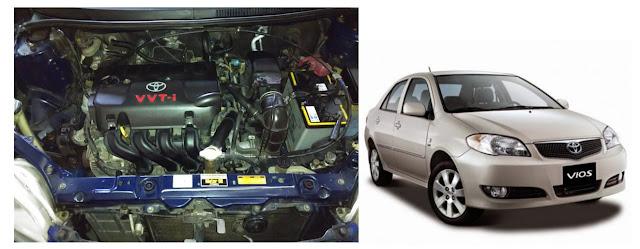 mesin toyota vios 2003 - 2004