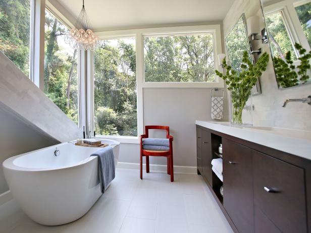 Contoh gambar 1 kamar mandi rumah minimalis modern dengan biaya murah