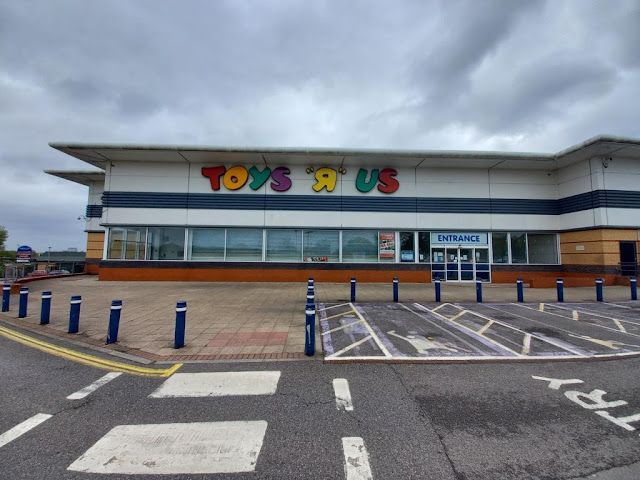 Toys R Us store at the Brighton Hill Retail Park in Basingstoke, Hampshire