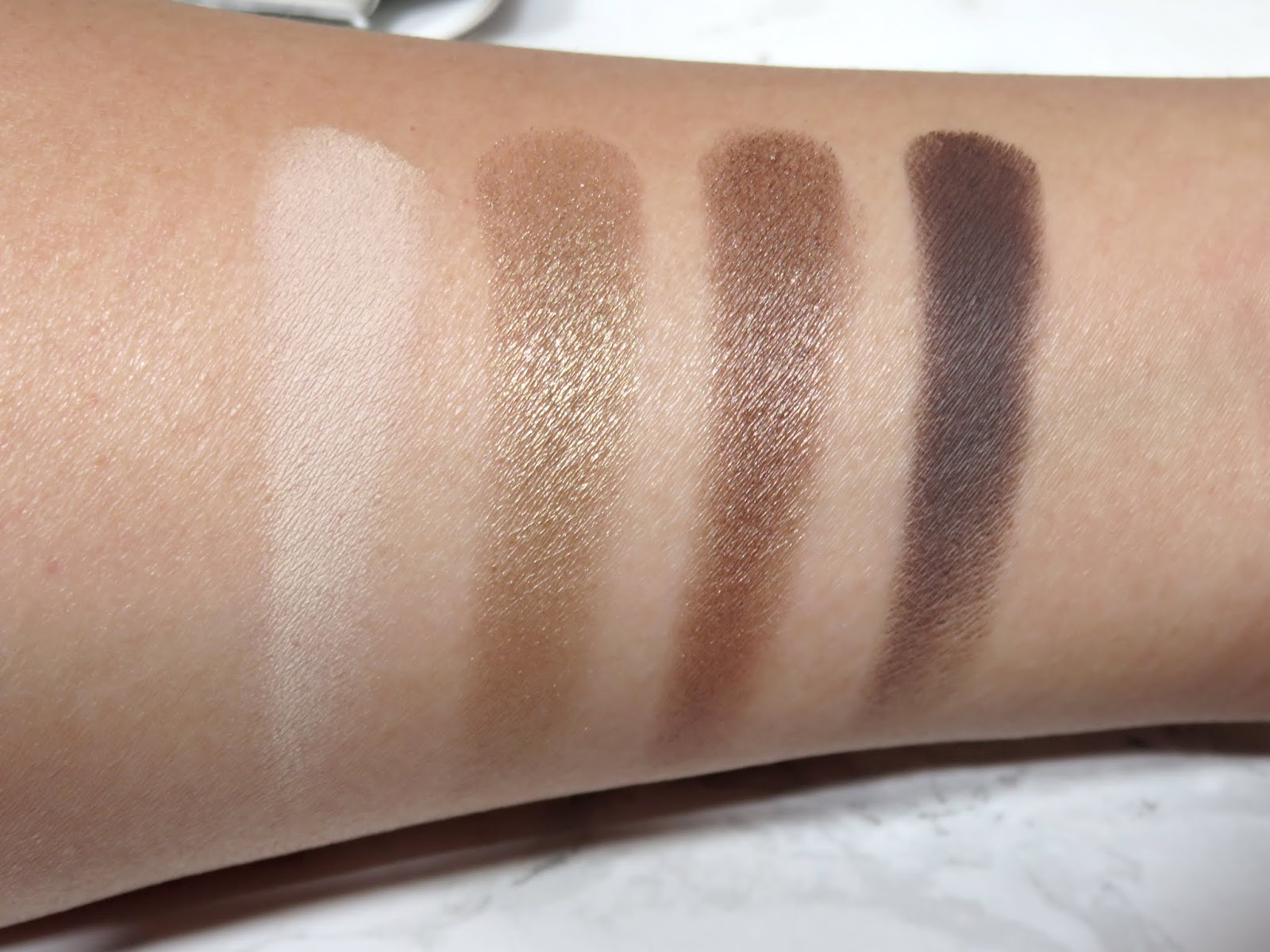 Tom Ford Noir Fume Eye Color Quad Swatches