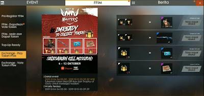 Cara Mendapatkan Token Trophy Of Glory dan Red Gift Box FF  Cara Mendapatkan Token Trophy Of Glory dan Red Gift Box