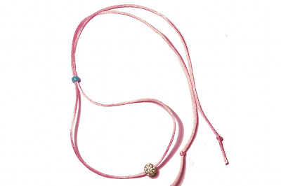 Chipina pink choker necklace