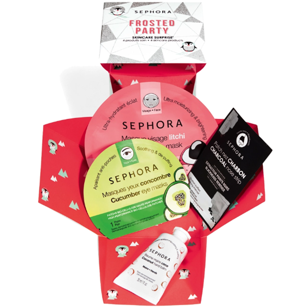Sephora Frosted Party Sorprese Skincare
