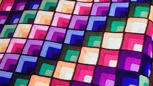 Magnífica manta cubrecama al crochet