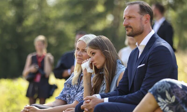 Crown Prince Haakon, Crown Princess Mette-Marit and Princess Ingrid Alexandra