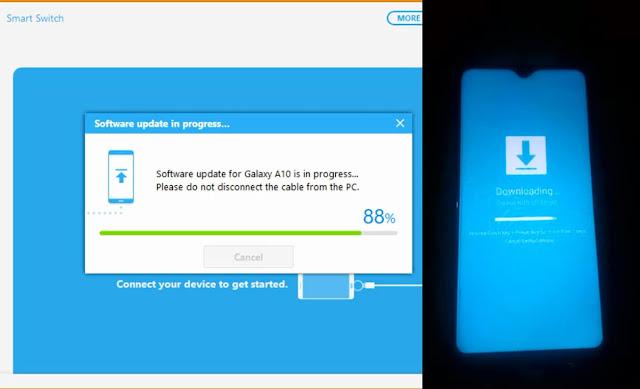 تحديث نظام اندرويد هواتف سامسونج شرح برنامج samsung smart switch عمل نسخ احتياطية للهاتف