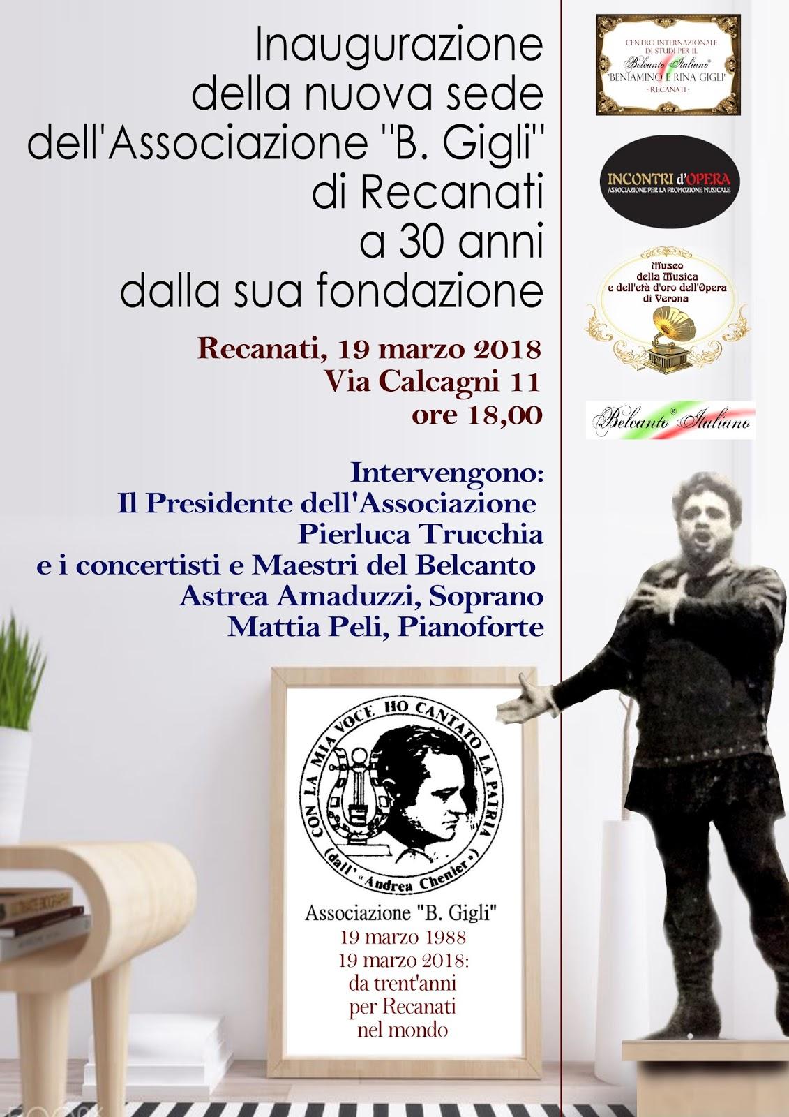Belcanto In Salotto.Centro Internazionale Di Studi Per Il Belcanto Italiano