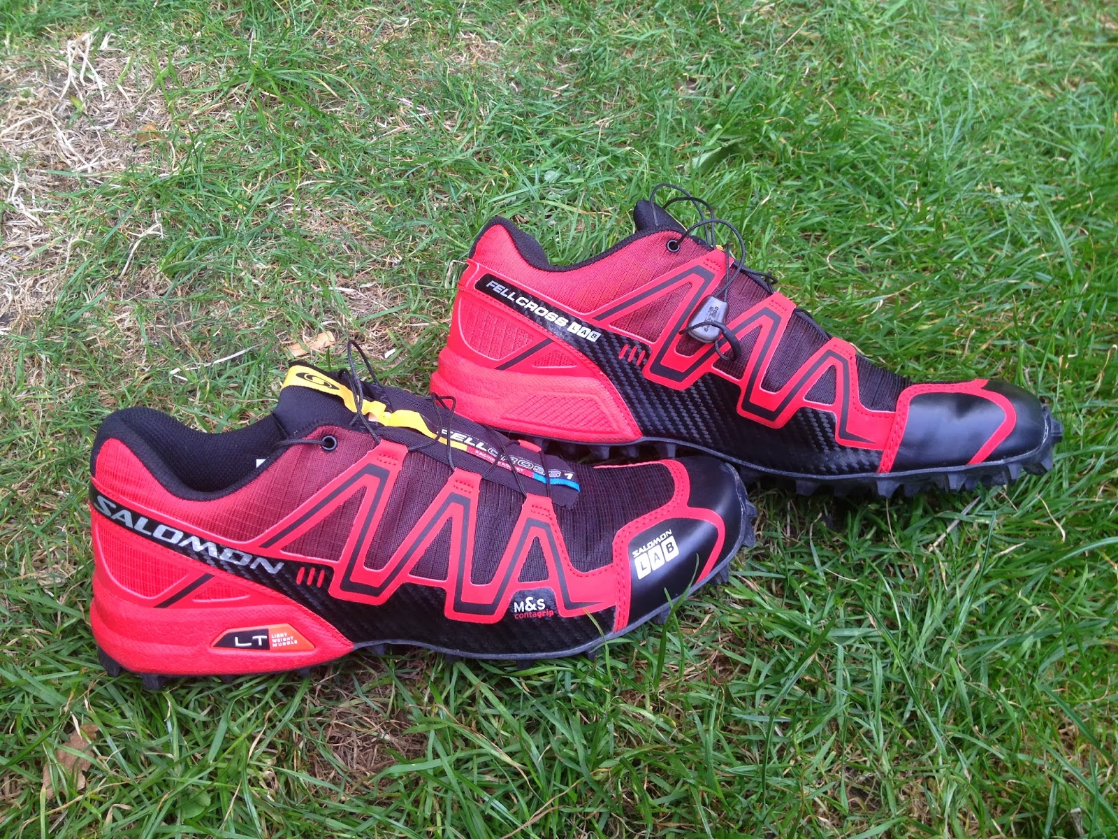 competitive price cc98d 7fe25 Showing off the colours and tough upper materials of the S-Lab Fellcross 1