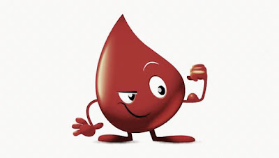Blood in drop