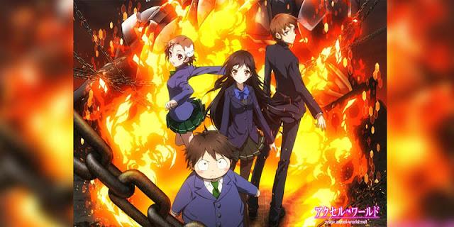 Rekomendasi Anime Game, Tentang Masuk Dunia Game Accel World terbaru
