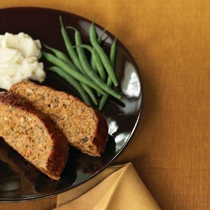 Italian Style Turkey Meat Loaf Recipe