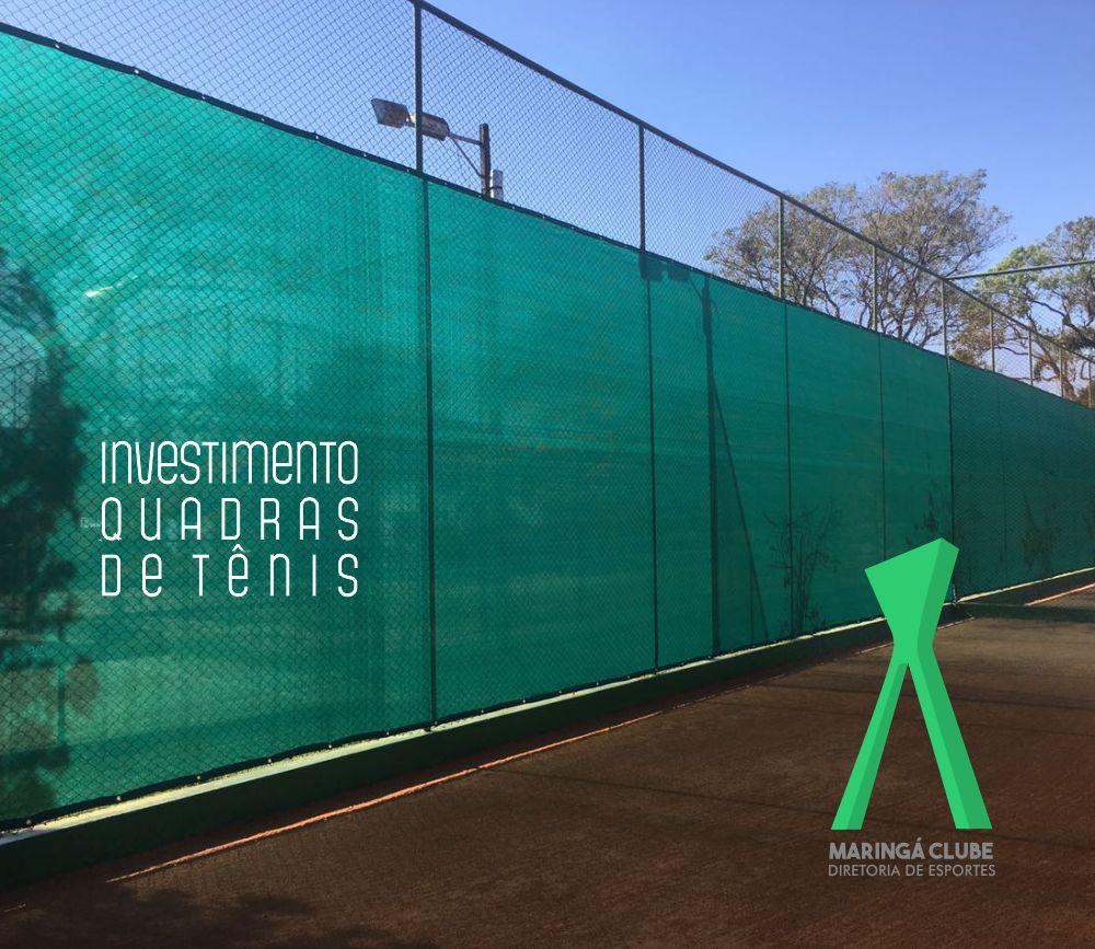 ccd61071af Investimentos  Telas nas quadras de tênis