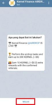 Chat Bot Airdrop Telegram