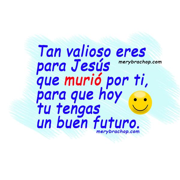tarjeta con buenos deseos para amigos cristianos en problemas Dios te ayuda buen futuro