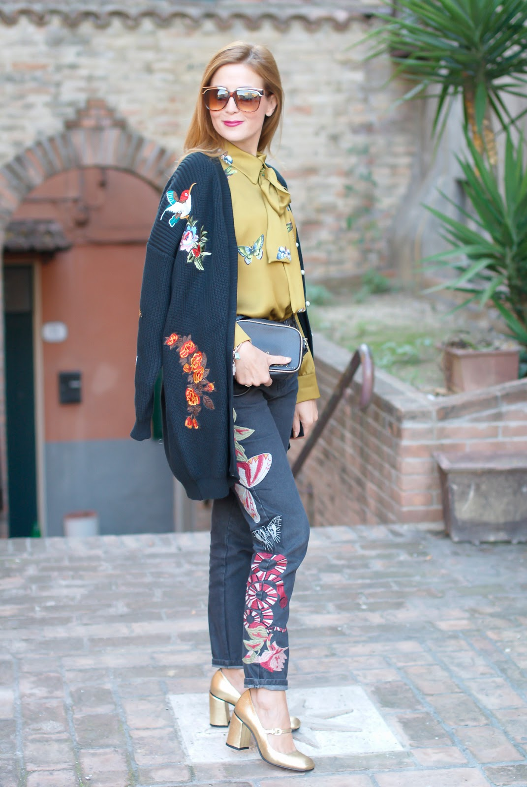 Gucci style outfit on Fashion and Cookies fashion blog, fashion blogger style