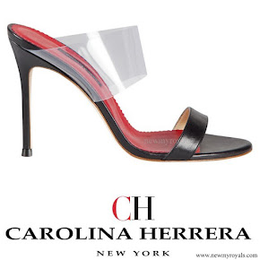 Queen Letizia wore Carolina Herrera Shoes - Spring Summer 2014 collection